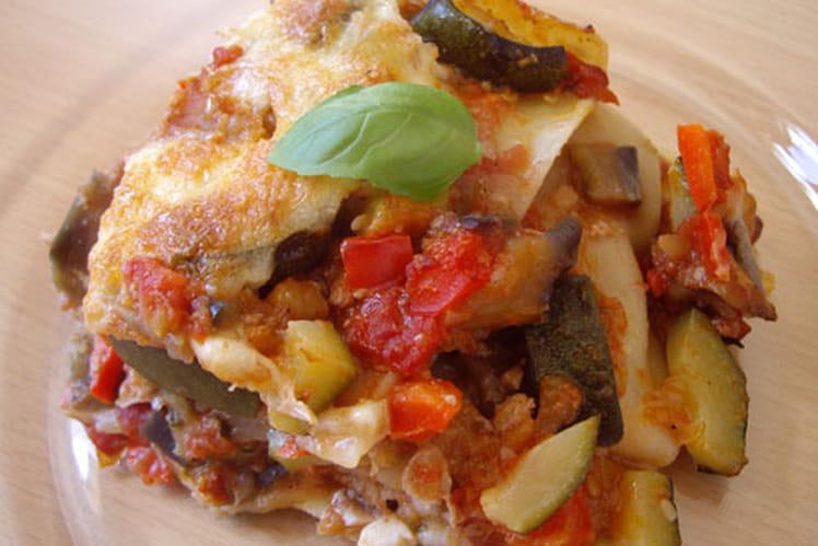 Lasagnes provençales au thon