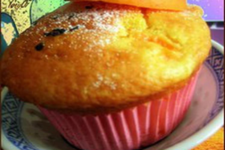Muffins aux abricots, curcuma et amandes