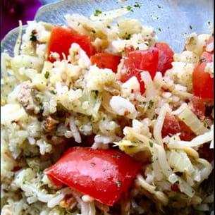 salade de quinoa au soja