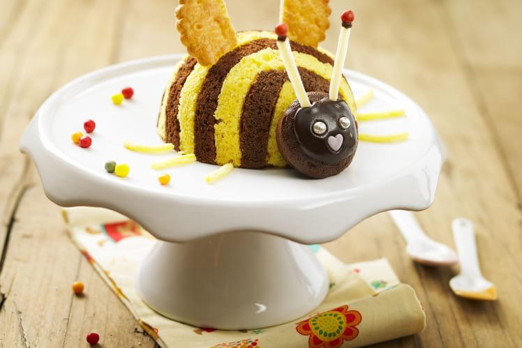 Gâteau abeille au chocolat