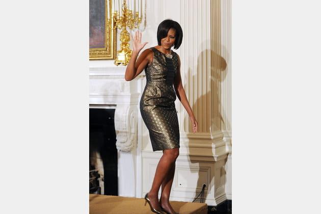 Michelle Obama le 24février 2011