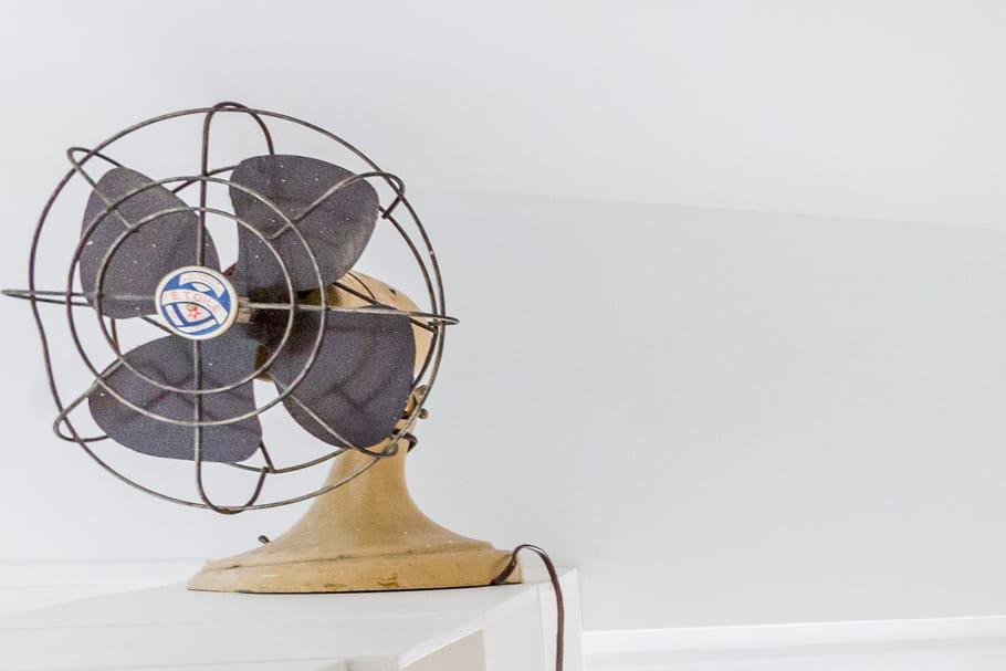 Le truc à chiner: un ventilateur vintage