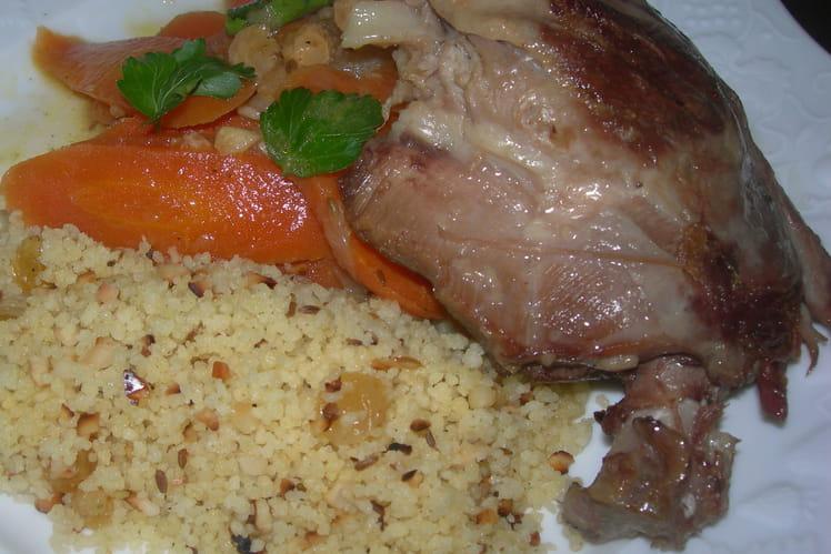 Cuisses de canard confites aux carottes épicées