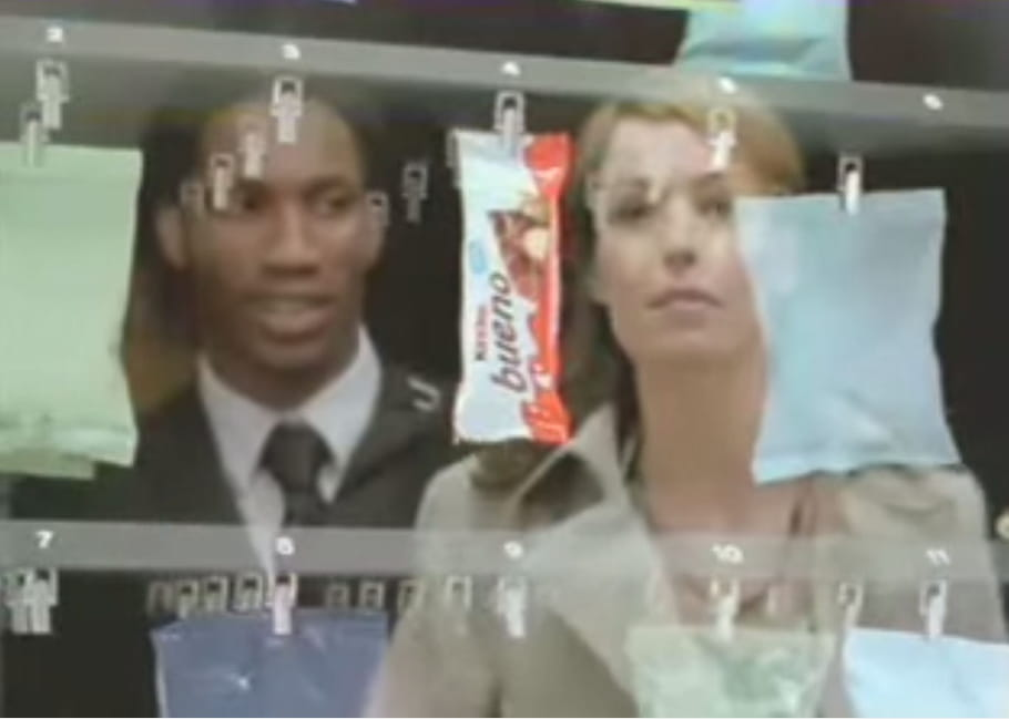 Didier Drogba, pas de quartier pour un Kinder Bueno
