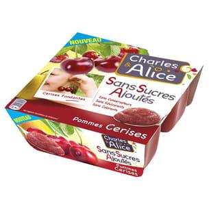 compote pommes-cerises de charles et alice