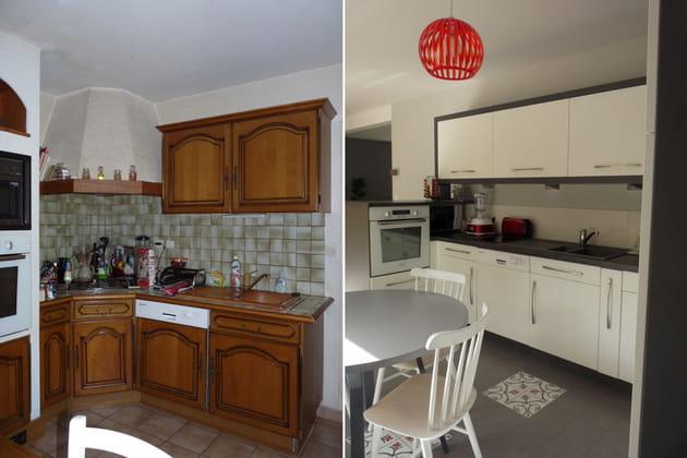 Décoration de cuisine : avant-après
