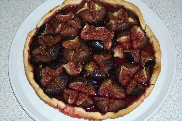 Tarte figue et miel (tarte Lilou)