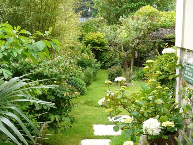 Visite d 39 un foisonnant jardin l 39 anglaise for Salon de jardin anglais