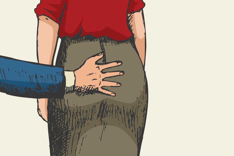Harcèlement sexuel: combien de vos collègues touchées?