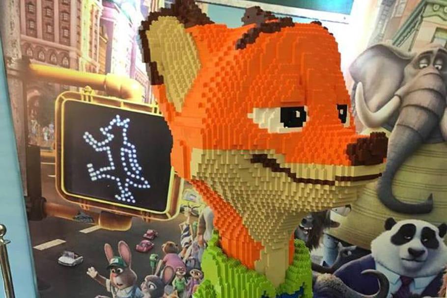 Une oeuvre en Lego, réduite en briques... par un enfant