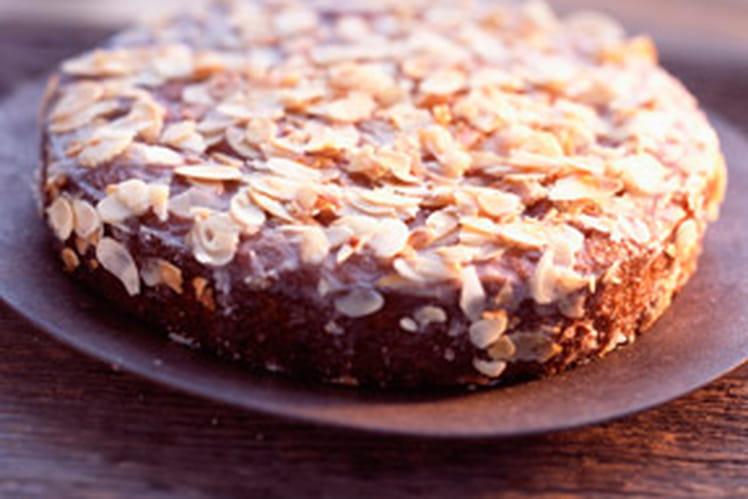 Gâteau aux amandes et aux oranges confites