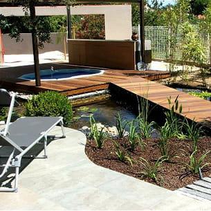 les propriétaires pourront profiter du spa quelle que soit la saison.