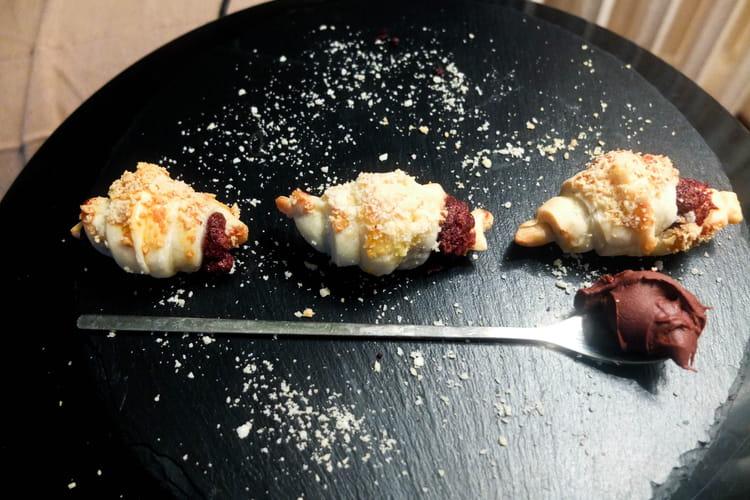 Mini croissants au nutella ou nocciolata