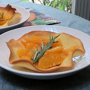 tulipes aux oranges