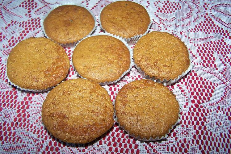 Muffins vanille chocolat (pépites)