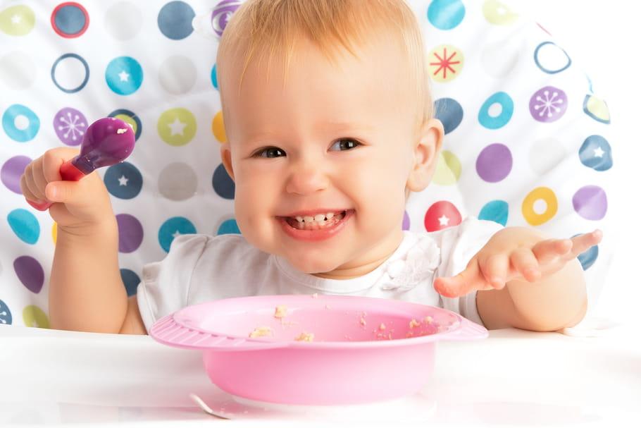 L'alimentation de bébé, mois par mois
