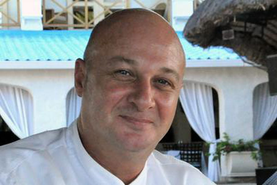 Karim Hassene, chef au One&Only Le Saint Géran