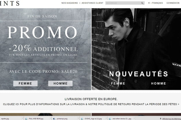 Le e-shop de All Saints