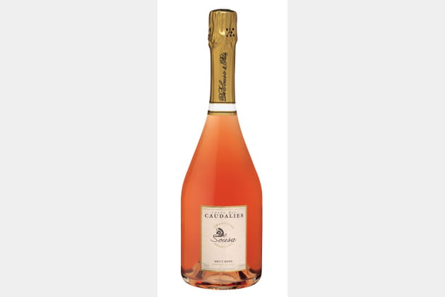 Champagne rosé De Sousa