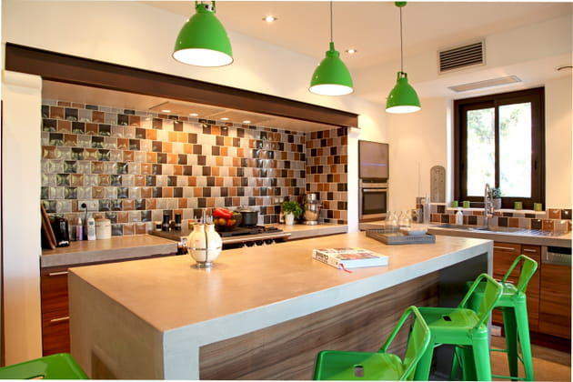 Une cuisine relevée
