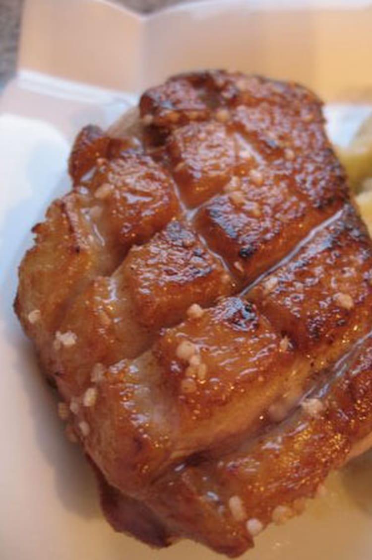 Magret Canard Foie Gras Four magret de canard grillé, sauce foie gras