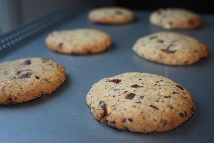 Cookies au beurre de cacahuètes, vegan et sans gluten