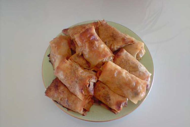 Pastilla aux courgettes et kefta