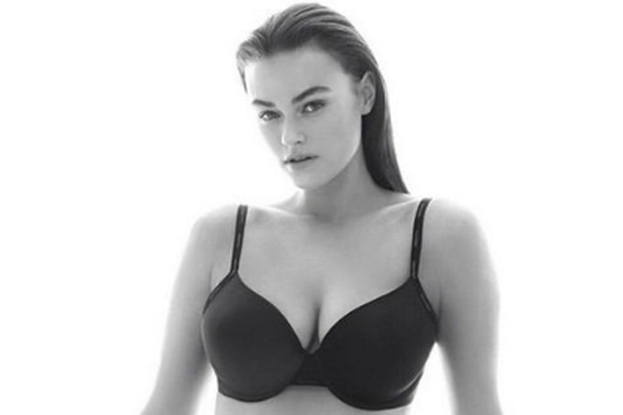 Polémique autour du mannequin taille 40 de Calvin Klein