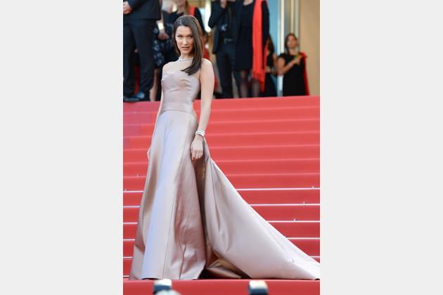 Bella Hadid en Christian Dior