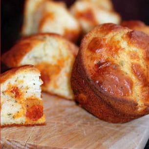 muffins au chorizo et parmesan