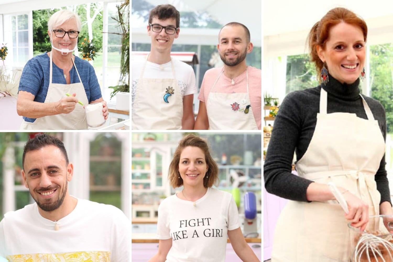 Les anciens candidats du Meilleur Pâtissier