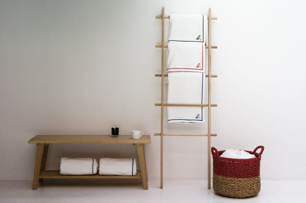 serviettes ponge d 39 agn s b pour la redoute int rieurs. Black Bedroom Furniture Sets. Home Design Ideas