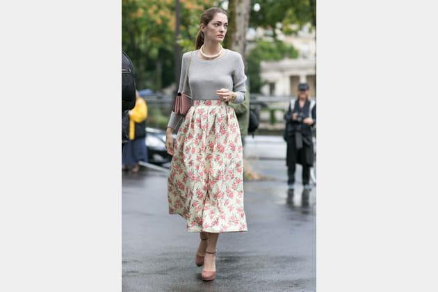 Street looks fashion week haute couture : fifties
