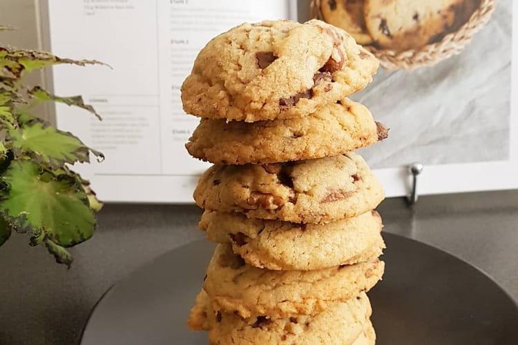 Cookies gourmands aux 3 chocolats (avec vergeoise)