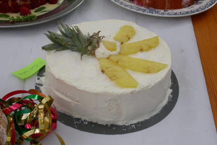 Gâteau à la Pina Colada