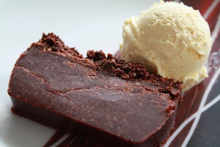Lingot chocolat-amande