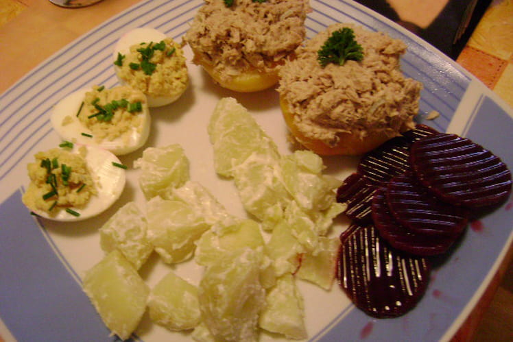 Assiette froide