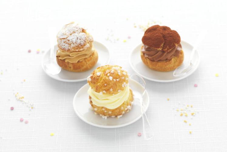 Mini-Choux crème mousseline