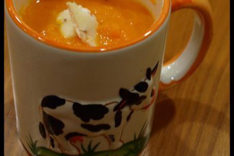 Soupe de carottes vosgienne