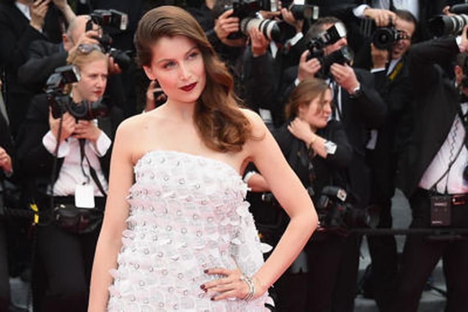 Le look people du jour spécial Cannes 2014: Laetitia Casta, princesse