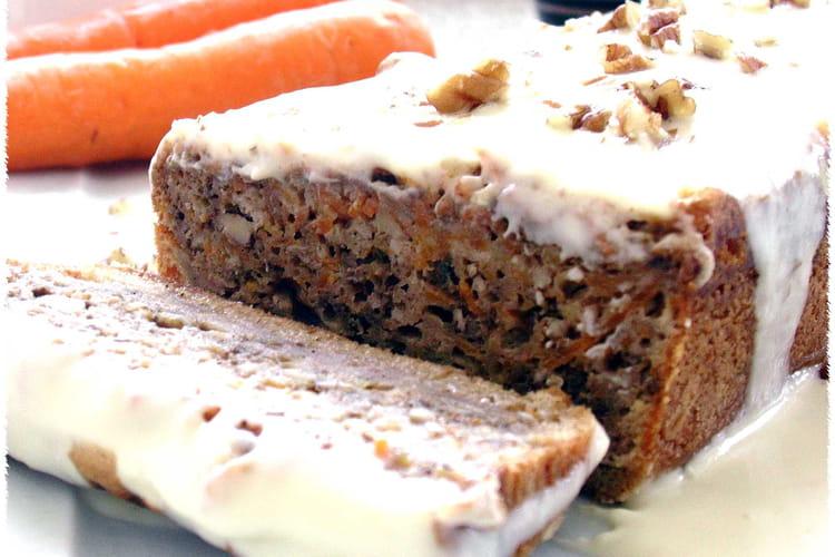 Carrot cake aux éclats de noix