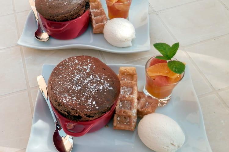 Soufflé chocolat mascarpone