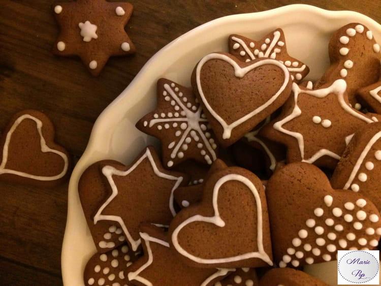 recette de jolis biscuits de pain d'épices : la recette facile