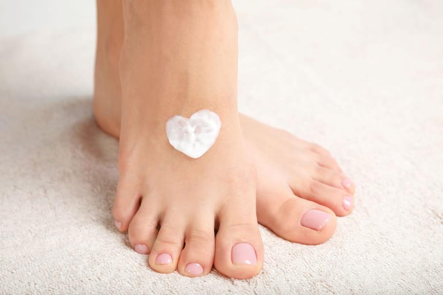 pieds secs causes