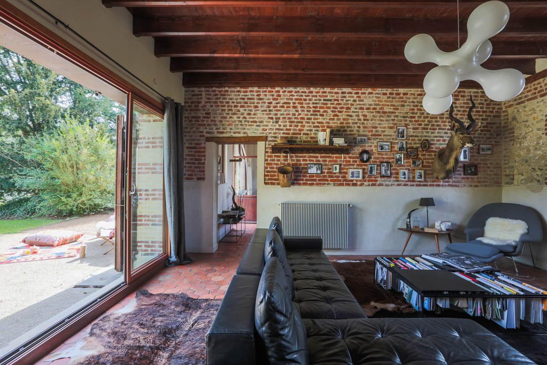 Salon ouvert sur le jardin for Salon ouvert sur terrasse