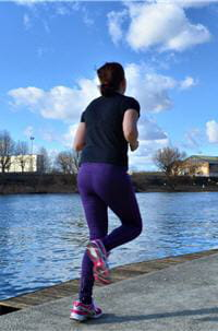 j'ai l'impression de mieux courir, je suis moins essoufflée en fin de séance.