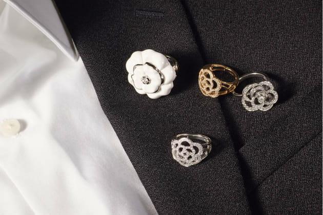 """La collection """"Camélia"""" de Chanel Joaillerie en 2016"""