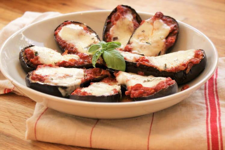 Aubergines à la sauce tomate et mozzarella