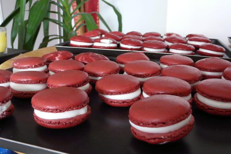 Macarons chocolat Guimauve
