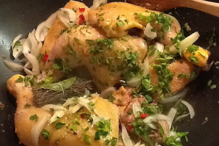 Recette de colombo de poulet de guadeloupe la recette facile - Cuisine de la guadeloupe ...
